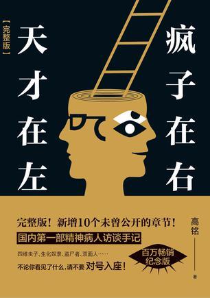 《天才在左 疯子在右》高铭 / 武汉大学出版社出版